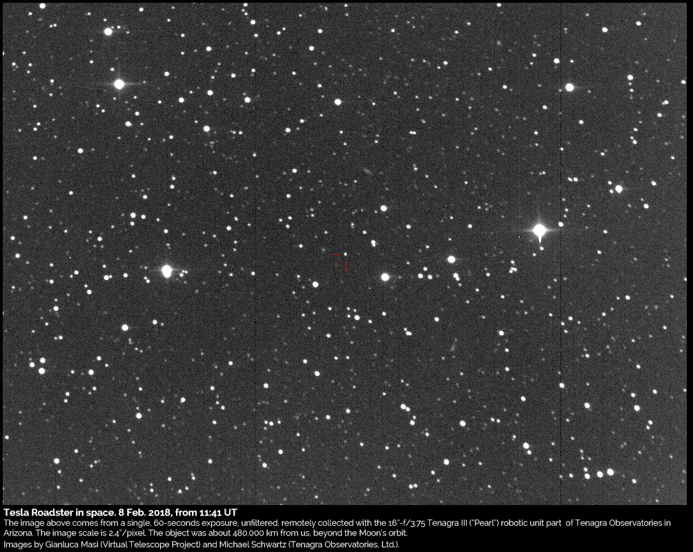 (Foto: Gianluca Masi/Virtual Telescope Project and Michael Schwartz/Tenagra Observatories)
