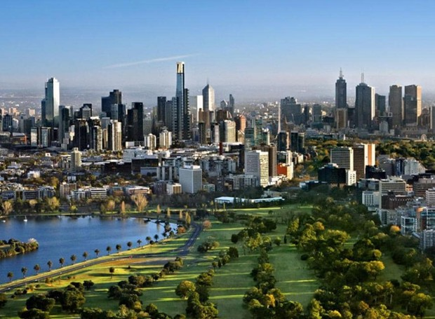 Melbourne (Foto: Reprodução/ The Australian)