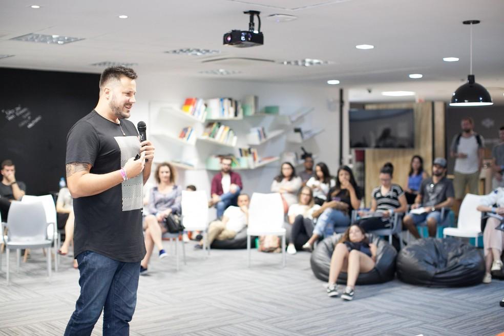 Quintalks promove bate-papos interativos a cada duas semanas no espaço do SebraeLab — Foto: Guilherme Vanini