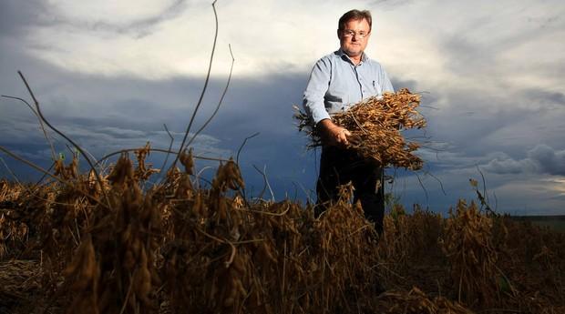 """Maior produtor de soja do País, Eraí Maggi afirma que papel de vanguarda da Embrapa foi trocado pelo de """"regulador de preço"""" de tecnologias  (Foto: Estadão Conteúdo)"""