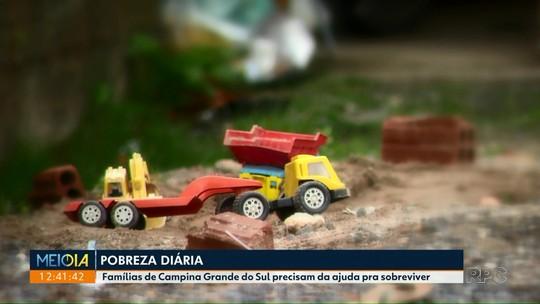 Projeto ajuda famílias carentes na região de Curitiba