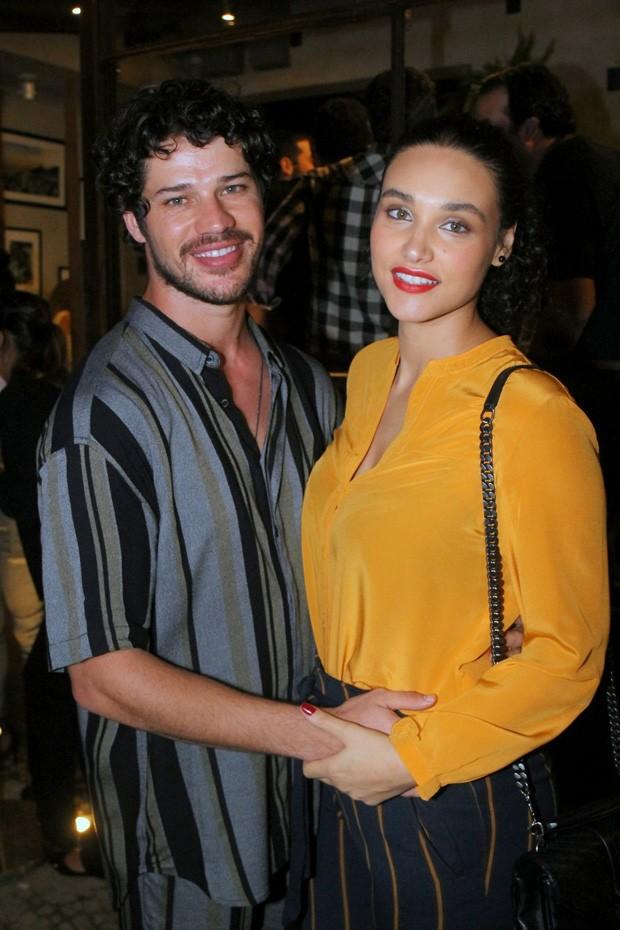 José Loreto e Débora Nascimento  (Foto: Daniel Delmiro / AGNews)
