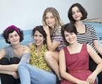 Maria Flor com o elenco de 'Só garotas' | Juliana Coutinho