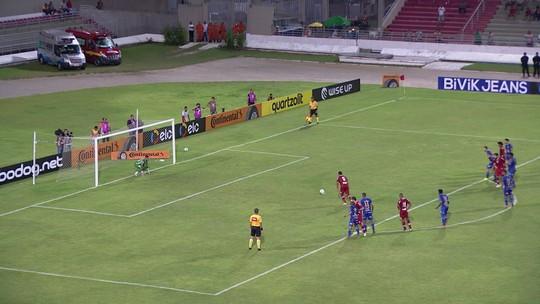 Os gols de CRB 1 x 1 Bahia pela terceira fase da Copa do Brasil
