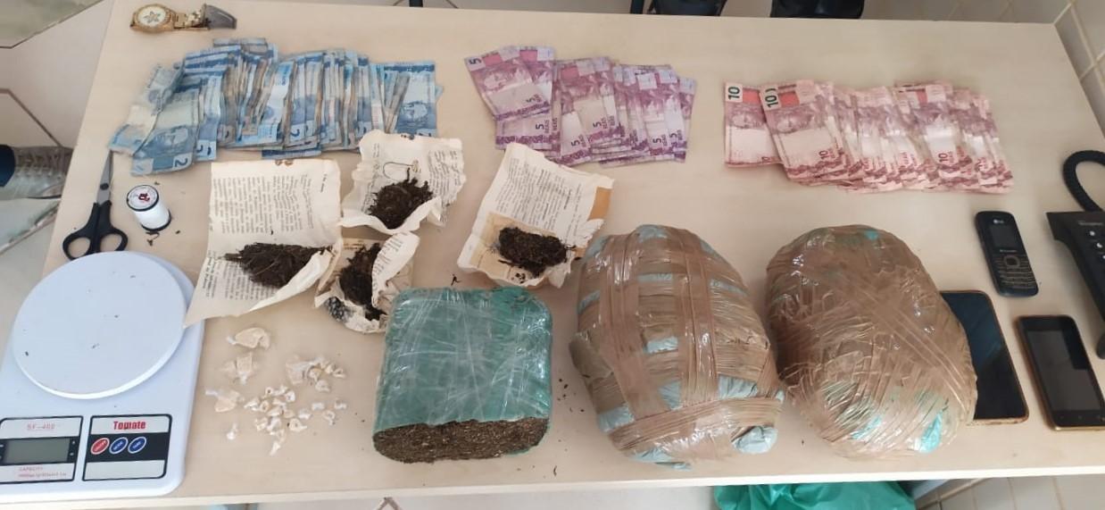 PM apreende mais de 2kg de drogas em operação em Paragominas, no Pará