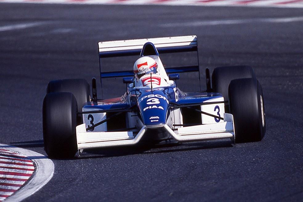 Tyrrell-Ford 019, pilotado por Satoru Nakajima em 1990 — Foto: Divulgação/Suzuka Circuit