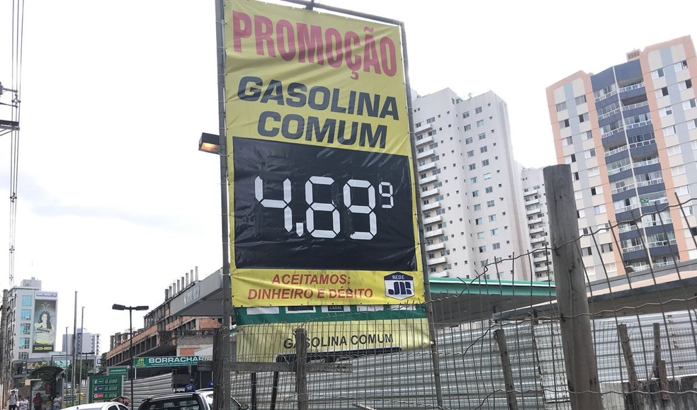 posto2 Posto que vendeu gasolina a R$ 9,99 no DF, na greve, é fechado pela BR Distribuidora Economia