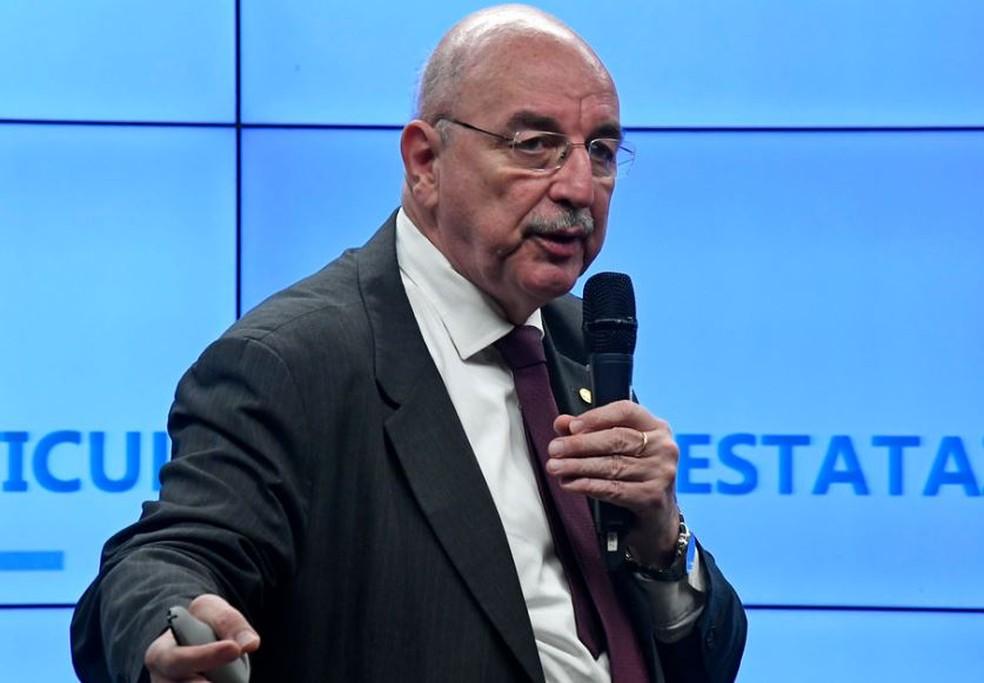 O ministro da Cidadania, Osmar Terra — Foto: Roque de Sá/Agência Senado