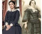 Leticia Sabatella será Teresa Cristina, a mulher de Dom Pedro II | Globo e reprodução