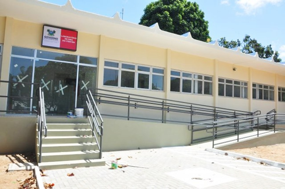 Laboratório do Itep foi inaugurado em julho, mas até então não estava funcionado efetivamente — Foto: Itep-RN/Divulgação