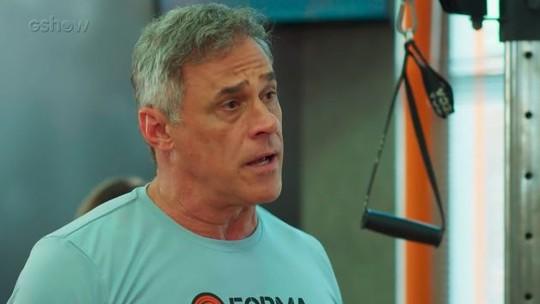 Teaser: Jorjão decide voltar a treinar Rômulo