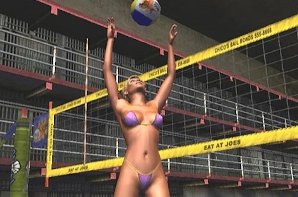 Jogo mistura esportes e personagens com pouca roupa (Foto: Divulgação/Hypnotix)