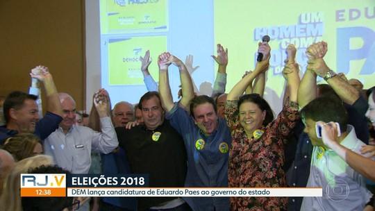 Democratas confirma candidatura de Eduardo Paes ao Governo do RJ