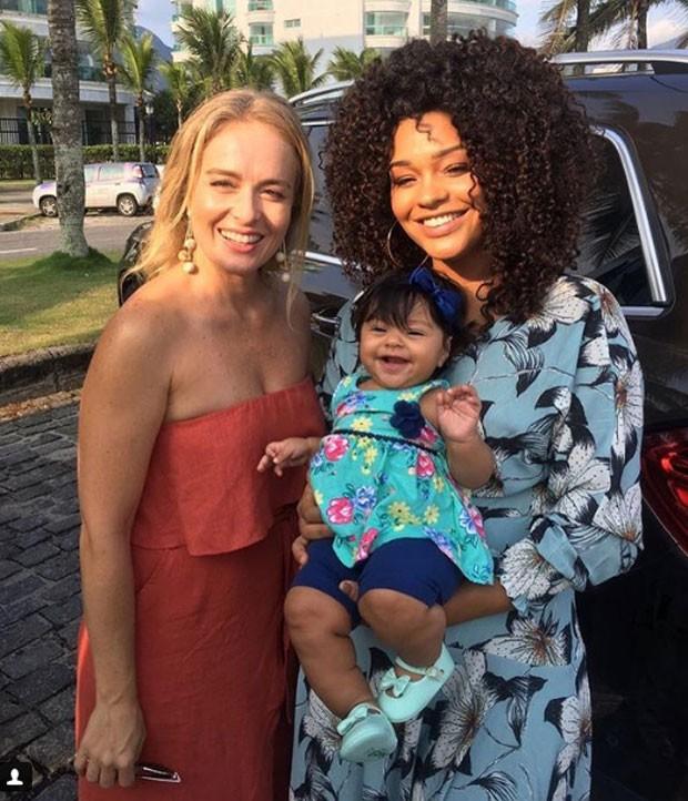 Angélica, Yolanda e Juliana Alves (Foto: Reprodução Instagram)