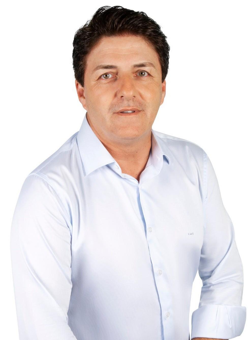 Carlos Alberto Taino Junior é eleito para a Prefeitura de Biritiba Mirim pelo PL — Foto: PL/Divulgação