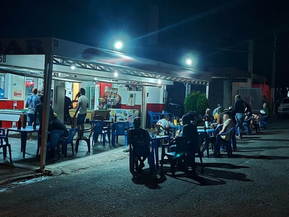 Estabelecimentos tiveram atividades suspensas neste fim de semana em Marília — Foto: Prefeitura de Marília/Divulgação