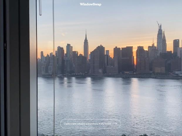 Este site reúne vistas de janelas de pessoas ao redor do mundo (Foto: Reprodução)