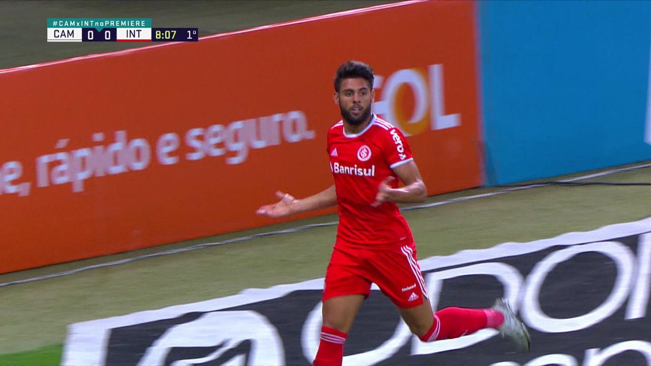 Yuri Alberto voltou a marcar no empate em 2 a 2 contra o Atlético-MG, na 24ª rodada