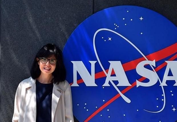 Jess Wade, a pesquisadora britânica que escreveu 270 artigos sobre mulheres cientistas na Wikipédia para que elas não fossem esquecidas (Foto: Instagram / jessjess1988)