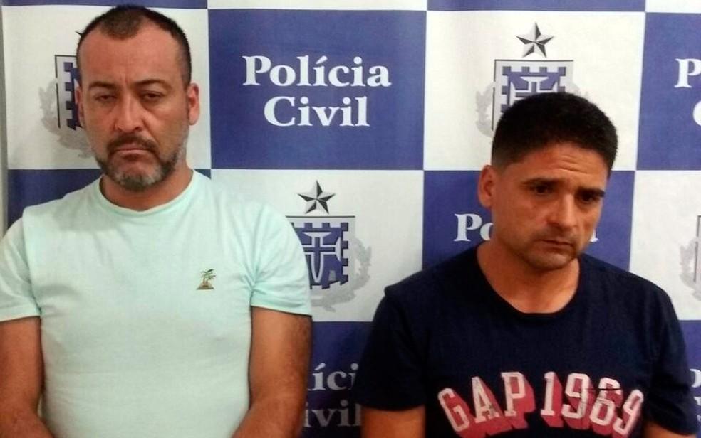 Chilenos foram presos após identificação por câmeras de segurança de prédios (Foto: Polícia Civil/Divulgação)