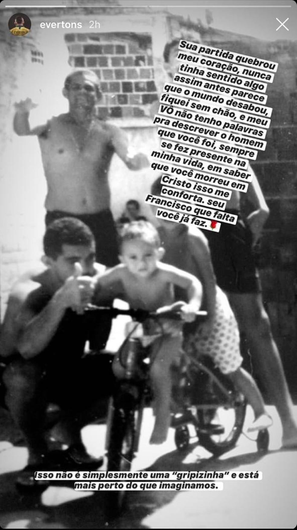 Homenagem Cebolinha, redes sociais — Foto: Reprodução
