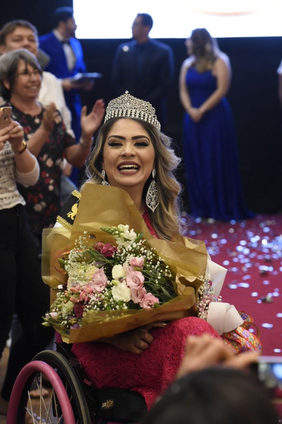 Miss Distrito Federal, representante do Lago Sul (Foto: Divulgação)