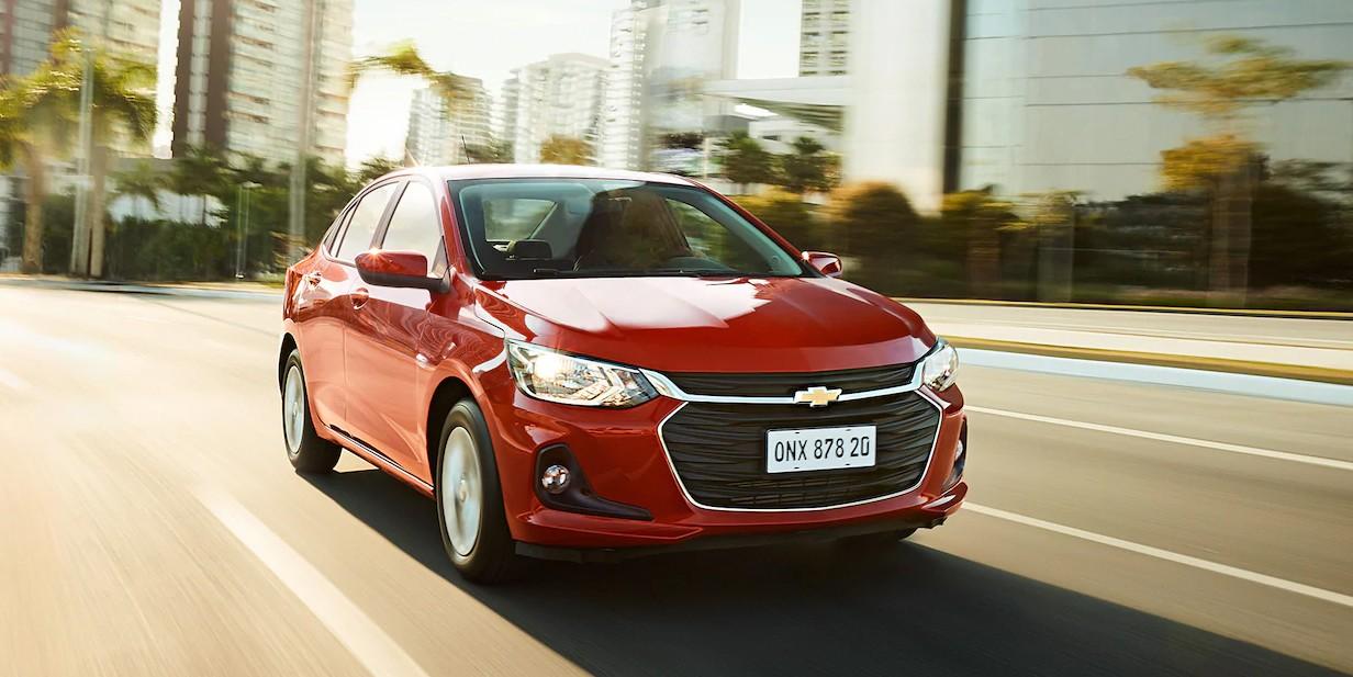 Marcado por linhas imponentes e elegantes, o Novo Onix Plus está totalmente alinhado com a nova linguagem de design global da Chevrolet (Foto: Divulgação)