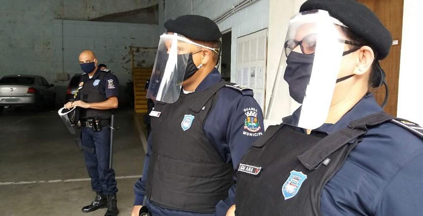 Guarda Municipal de Juiz de Fora recebe EPIs do Ministério da Justiça para o enfrentamento da pandemia