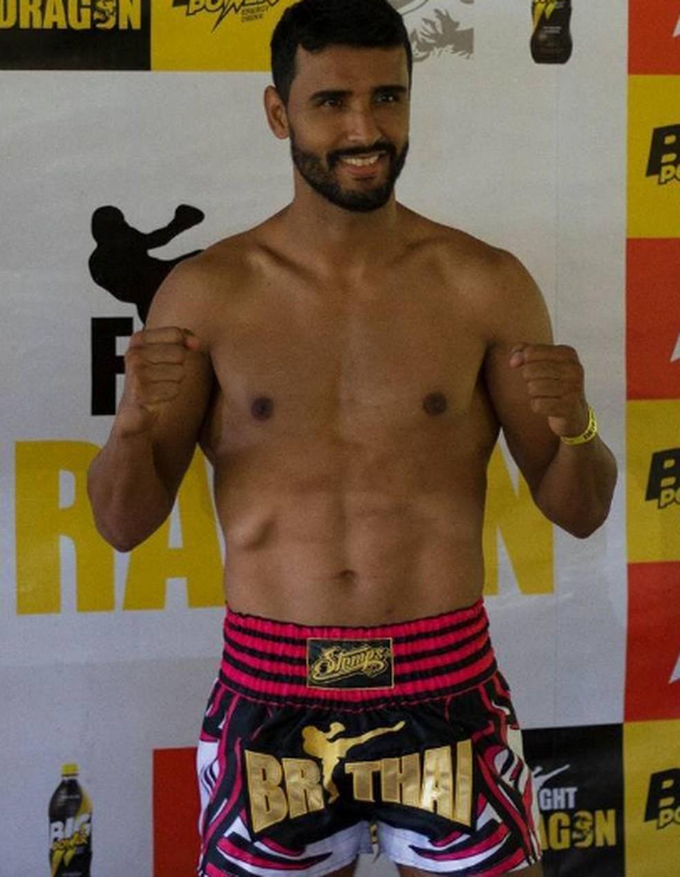 Rafael Beiton, de 31 anos, morreu após luta de kickboxing em Mogi — Foto: Reprodução/Facebook