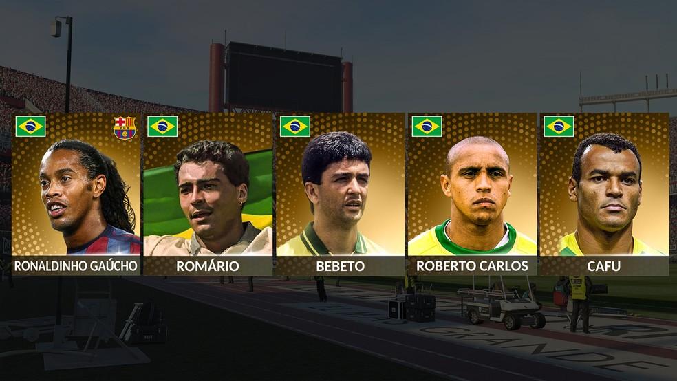 PES 2019: confira a lista de jogadores Legends que estarão