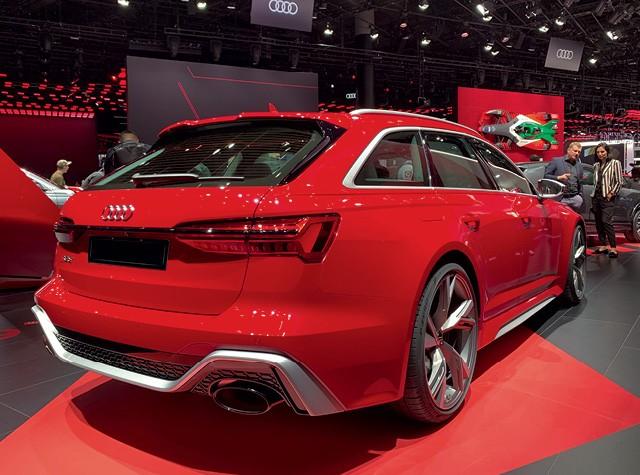 Salão de Frankfurt 2019 - Audi RS 6 Avant / RS 7   (Foto:  )
