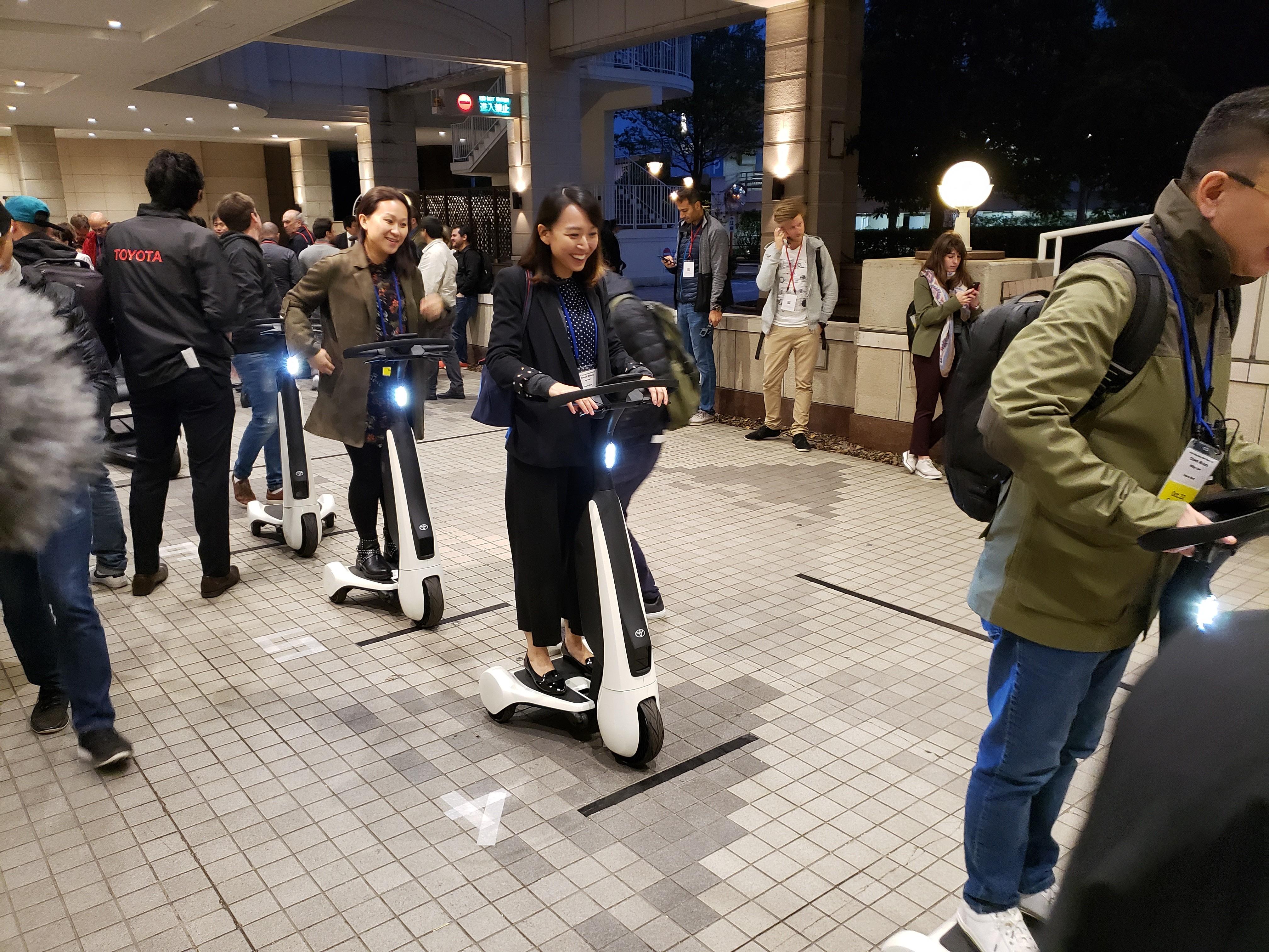 Toyota vai lançar 'patinete' elétrico em 2020 e quer virar empresa de mobilidade - Notícias - Plantão Diário