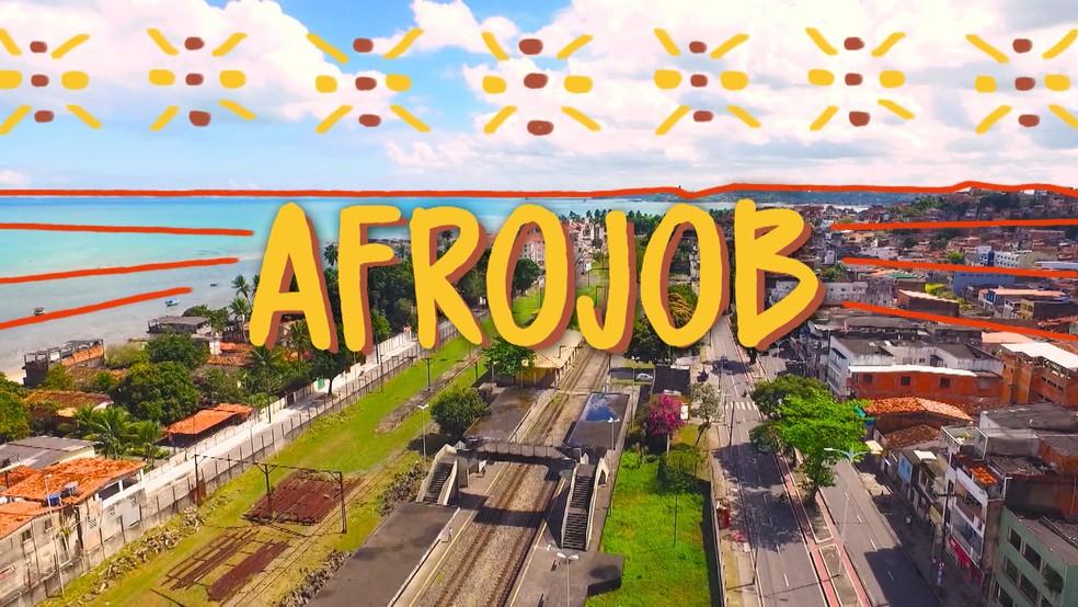 Afrojob — Foto: Amanda Torres/TV Bahia