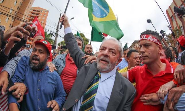 Lula parte para o Nordeste em sua caravana pelo Brasil