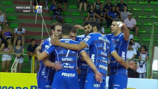 Vôlei Taubaté vence Montes Claros no tie-break e vê Cruzeiro abrir na liderança