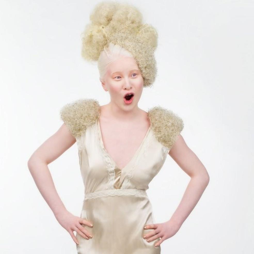 'Comecei a trabalhar como modelo por acaso, quando tinha 11 anos' — Foto: REINY BOURGONJE/BBC