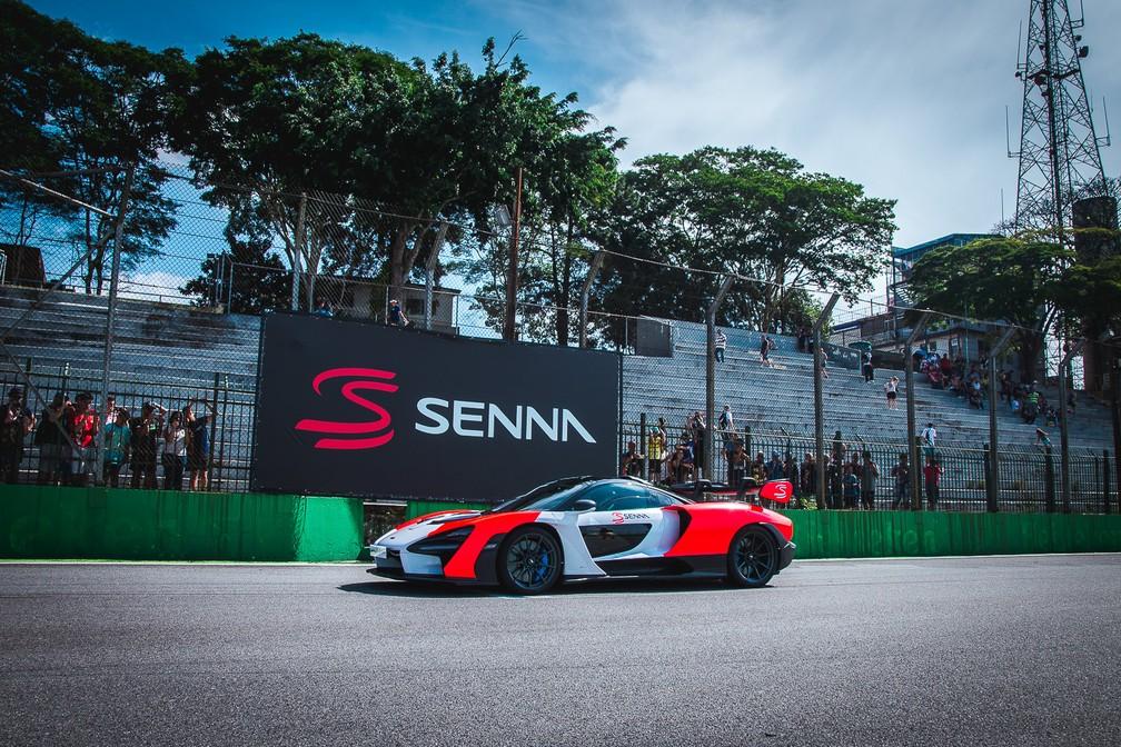 McLaren Senna — Foto: Divulgação/Maikon Bauer