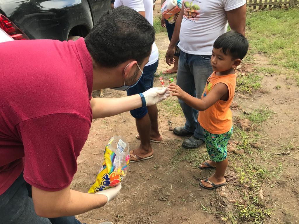 Campanha 'Juntos somos mais fortes' arrecada alimentos para doar a famílias carentes de Alter do Chão