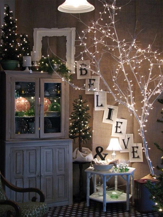 9 ideias para uma decoração de natal diferente (Foto: reprodução)