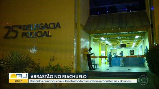 Bandidos armados fazem arrastão na Avenida Marechal Rondon, no Riachuelo