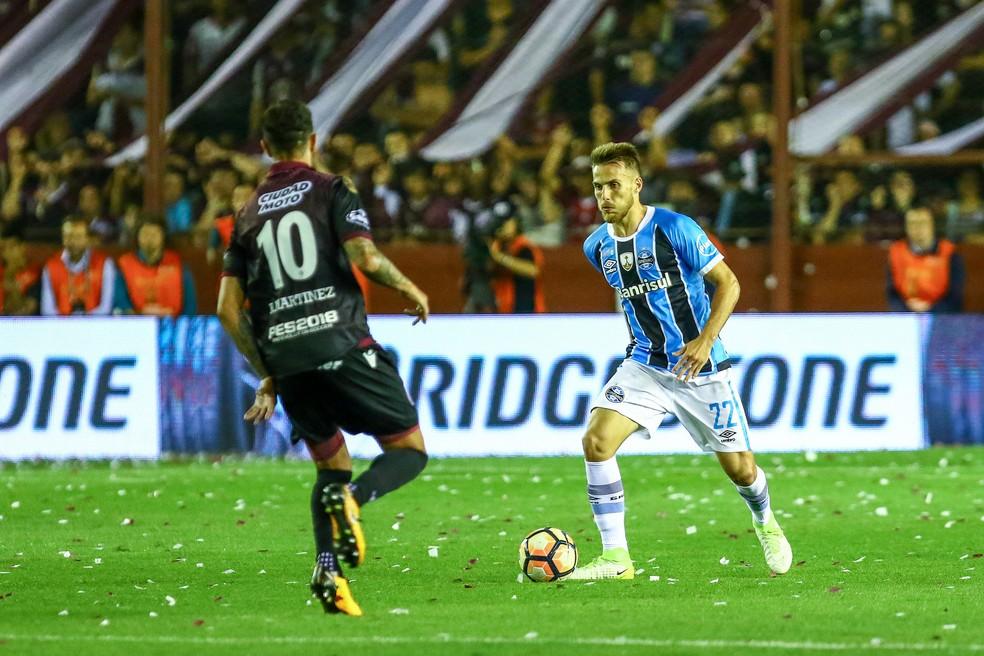 Bressan quebrou desconfiança de gremistas (Foto: Lucas Uebel/Divulgação Grêmio)