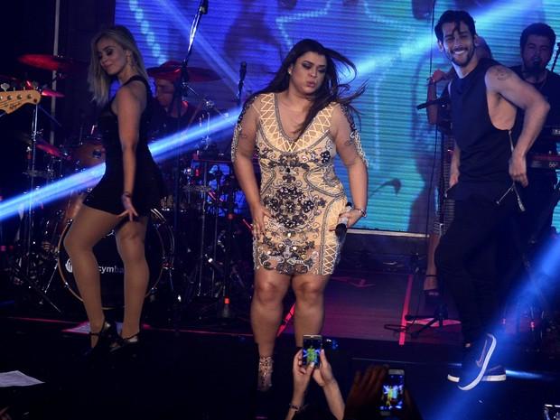 Preta Gil canta em festa na Zona Sul do Rio (Foto: Roberto Teixeira/ EGO)