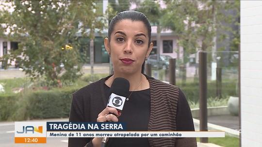 Menina de 11 anos morre após ser atropelada por caminhão na Serra catarinense