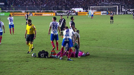 Comentaristas criticam cera do Bahia contra o Vasco e relembram Neymar