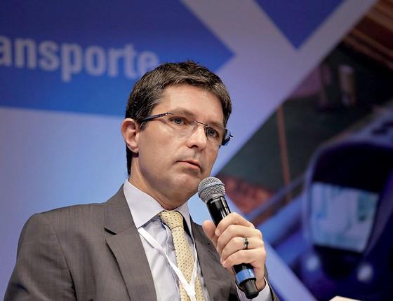 O presidente da Agência de Transportes do Estado de São Paulo, Giovanni Pengue, supervisionou a licitação que acabou vencida pelo sobrinho do governador (Foto: Newton Menezes/Futura Press)