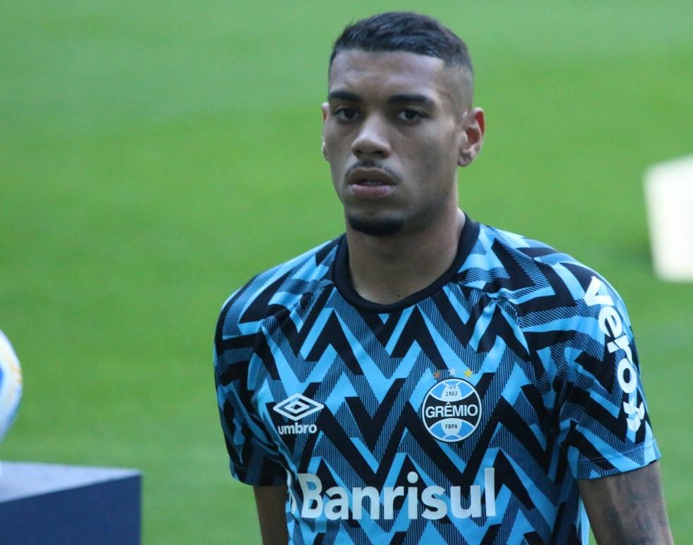 Ruan, zagueiro do Grêmio — Foto: Eduardo Moura