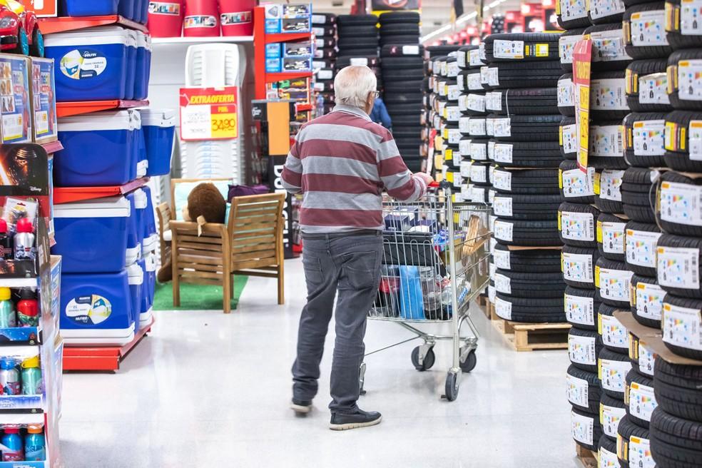 Atividade econômica ainda não se recuperou com força; dados apontam possibilidade de nova queda — Foto: Celso Tavares/G1