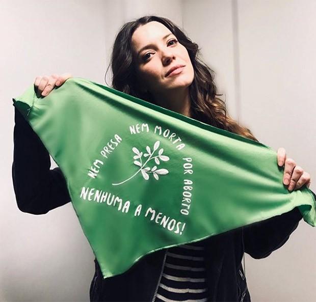 Nathalia Dill se posiciona a favor da descriminalização do aborto no Brasil (Foto: Reprodução/Instagram)