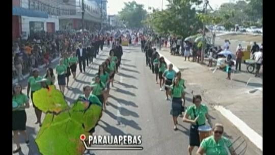 Desfiles de 7 de Setembro reúnem milhares de pessoas no interior do Estado