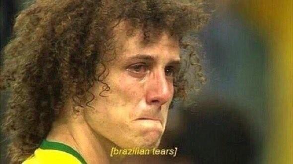 David Luiz aparece em meme após derrota do Brasil na Copa (Foto: reprodução)